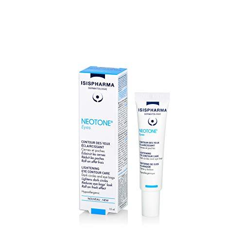 Isispharma - Neotone Eyes - Crème Contour des Yeux Éclaircissante - Réduction Taches Pigmentaires, Cernes et Poches - 15 ml