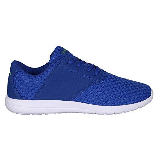 Hoodboyz Surface Low-Sneaker Blau