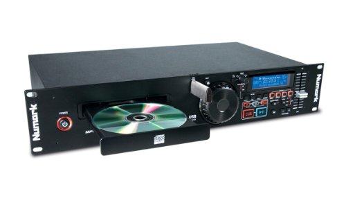 Numark MP103USB - Rack-einbaufähiger USB- und CD-Player mit dedizierten Reglern für Pitch und Master Tempo, leistungsorientierten Eingängen/ Ausgängen und Unterstützung für CD und MP3-CD