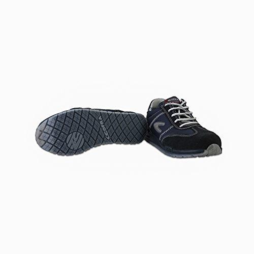 Cofra 78400–003.w42taglia 42s1p src'Brusoni Scarpe di sicurezza, Blu/Nero