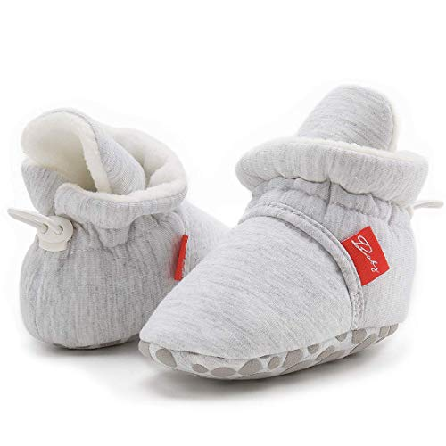 ENERCAKE Baby Boys Girls Shoes Toddler High-Top Ankle Canvas Infant Sneakers Soft Sole Newborn First Walkers Crib Shoes( 0-6 Months Infant,A-Yellow
