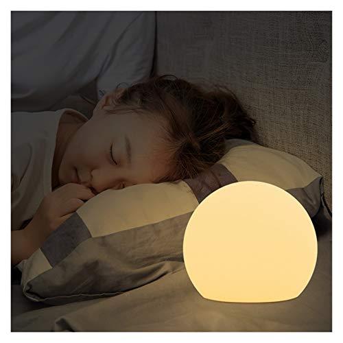 JSJJAJN Interior Lámpara de pie LED Regulable con Mando a Distancia for el Dormitorio de la luz del jardín lámpara de Piso (Lampshade Color : Diameter 50cm)
