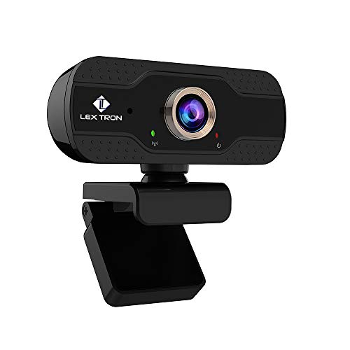 Full HD 1080P Webcam with Tripod | Wide 90 Degree Lens Computer Camera | Web Cam with Microphone | Plug & Play 6FT USB Web Camera | Compatible with PC Computers | Gaming on Playstation | New
