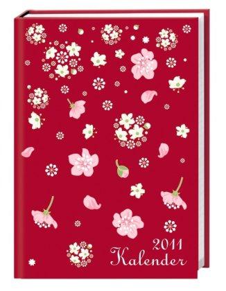 Floral Schüleragenda 2011 A5: 17-Monats-Kalender. August 2010 bis Dezember 2011