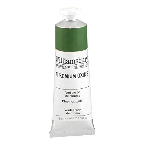Williamsburg Oil 37ml Tube, Chromium Oxide Green (60012239)