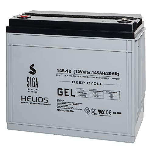 Gel Batterie 145Ah 12V Gel Akku Solarakku Boot Versorgungsbatterie Elektromobil 150Ah
