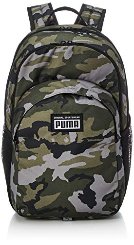 PUMA Academy Backpack Mochilla  Unisex Adulto  Forest Night Camo AOP  OSFA
