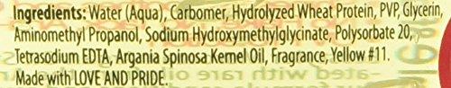 ECOCO Moroccan Argan Oil Styling Gel, 8 Fluid Ounce, ECOMOR08