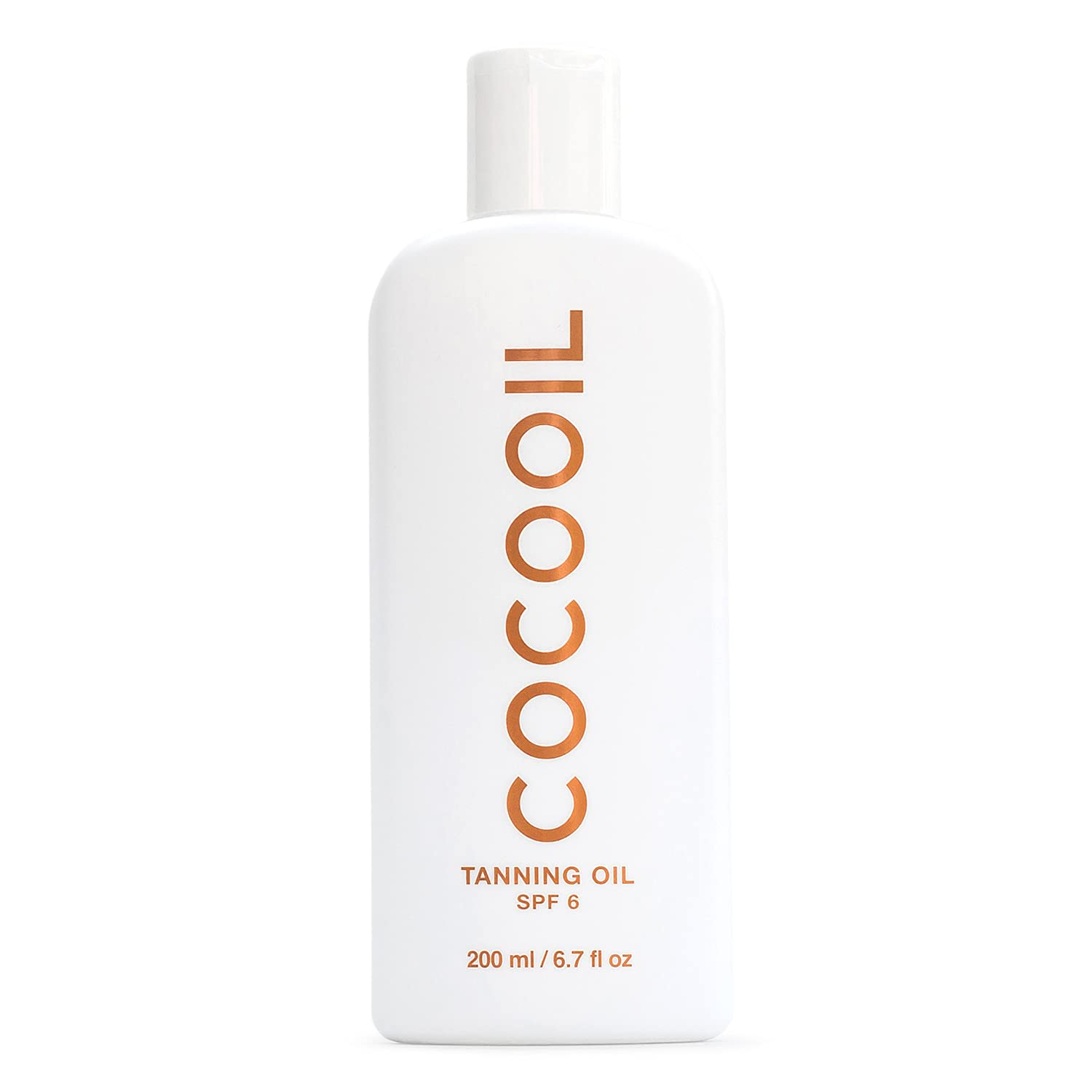 COCOOIL Detroit Mall Tanning Oil SPF 6 free Natural Botanic Coconut Organic