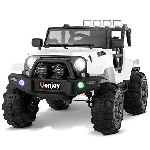 Uenjoy Ride on Car 12V Battery Power Children