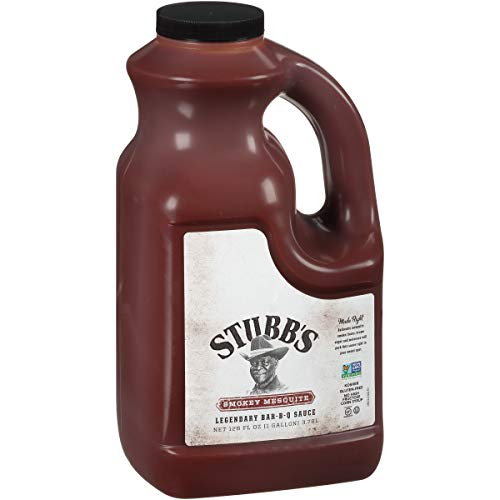 Stubb s Smokey Mesquite Legendary Bar-B-Q Sauce, 1 gal