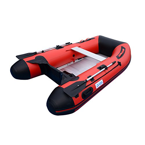 Why Choose BRIS 8.8ft Inflatable Boat Dinghy Tender Fishing Pontoon Boat with Aluminum Floor