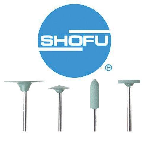 Shofu Dental Corp 414 Greenie FG Mini-Point 12/Bx