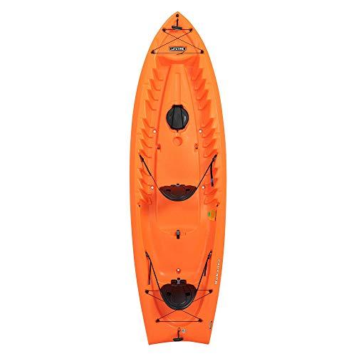 Lifetime Kokanee Sit-On-Top Kayak, Orange, 10'6'