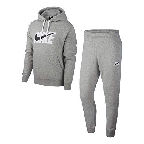 Nike Herren Sportswear Trainingsanzug, Hafer (Oatmeal Heather), M