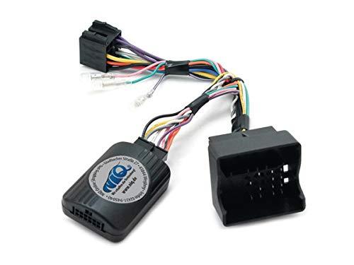 NIQ CAN-BUS Lenkradfernbedienungsadapter geeignet für PIONEER Autoradios, kompatibel mit VW Amarok / EOS / Golf V / Golf VI / Jetta / Passat / Scirocco / Tiguan / Touran / Transporter