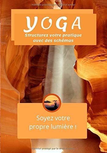 Yoga Soyez votre propre lumière !: Dessinez vos postures préférées, écrivez la réalisation, l'observation, les ressentis, la visualisation, la relaxation 100 pages 17 x 25 cm L'art de revenir à Soi !
