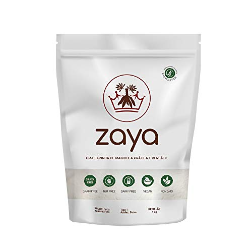Farinha Zaya - a Farinha Multiuso sem Glúten de Ingrediente Único