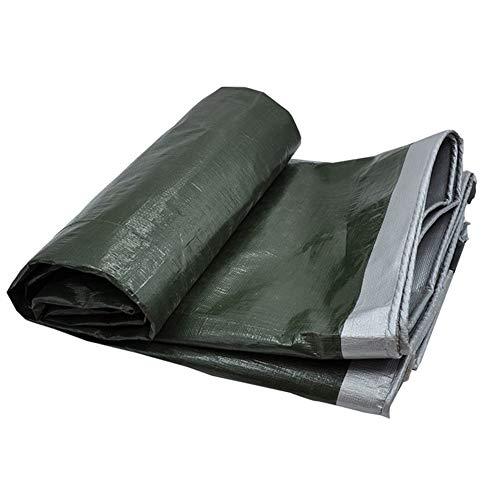 YBZX Tarpaulin Waterproof with Eyelets Universal Tarp Sheet for Garden Furniture, Pool, Car, Truck, Waterproof and Tear-resistant Protective Tarpaulin Heavy Duty