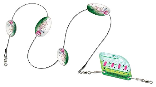 Panther Martin High Lake Rudder Troll Fish Attractor MDR_9_RTH High Lake Rudder Troll Fish Attractor Rainbow Trout, Rainbow/Trout