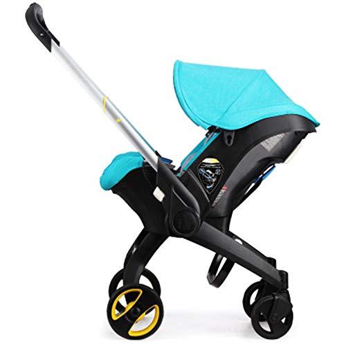 Cochecito De Bebé Cuatro En Uno Asiento De Seguridad Multifuncional Coche Coche Ligero Ligero Plegable Cochecito De Dos Vías,A
