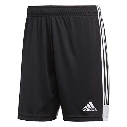 adidas Men's Tastigo 19 Soccer Shorts,Black/White,Medium