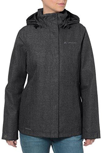 VAUDE Damen Limford Jacket, Black, 42, 04723