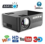 BORSSO™ Moon 7.1 HD Projector