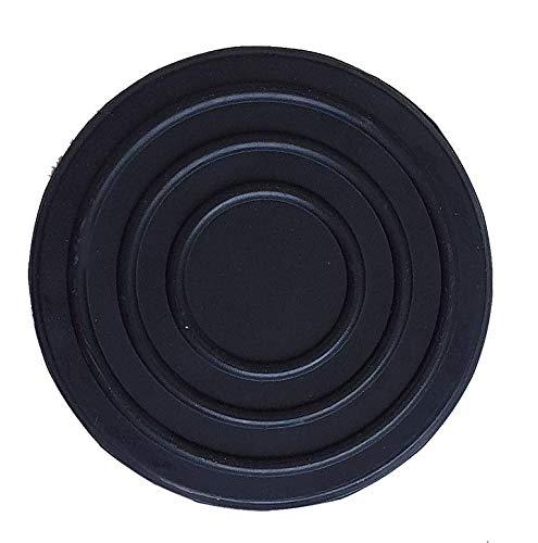 KUNZER (WK 1075-09) Gummi-Sattelkissen – Schwarze Auflage für Wagenheber WK 1075 – Vertiefungen