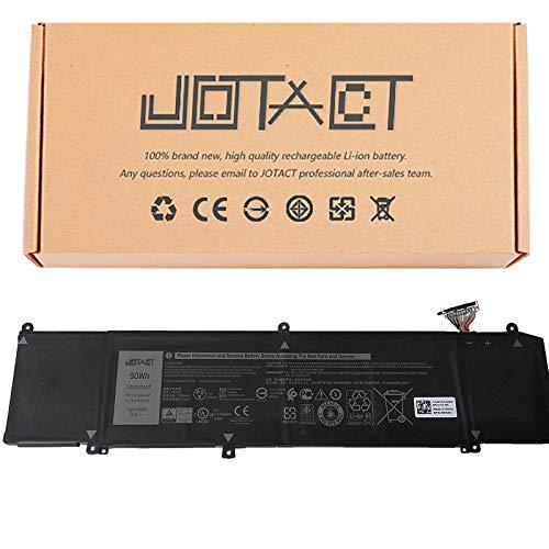 JOTACT XRGXX (11.4V 90W/7500mAh 6-Cell) Laptop Battery Compatible with Dell G7 7590 7790 G5 5590-D2783W D2743B D2865B D2863W D2842W Alienware M15 M17 R1 Series Notebook 1F22N 0JJPFK 08622M 06YV0V