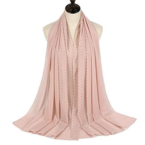 Eantpure Geschenk für Frauen,Wärme, weich, bequem, elegant, modisch, Temperament, Damen Kopftuch, Damen dünne Schals-B,Frauen schal