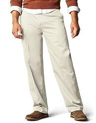 powerful Dockers Signature Khaki D3 Flat Pants, Regular Fit