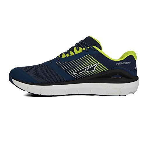 ALTRA AL0A4PEA Provision 4 - Zapatillas de correr para hombre, Azul (Azul/Lima), 42.5 EU