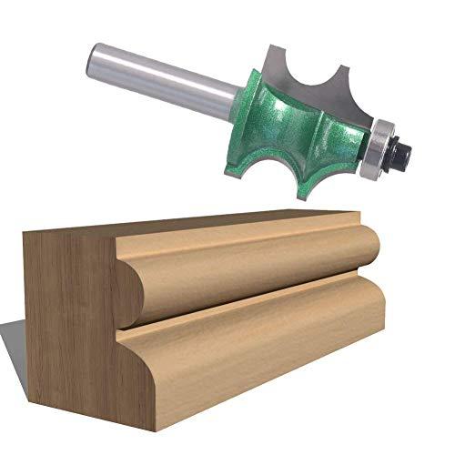 Yongenee duradero 8mm cortador de madera del cuchillo de la manija a un gabinete superior Línea Tablas Línea cuchillo del cuchillo con el techo de proyecciones en la línea R R Fresa Virutas Herramient