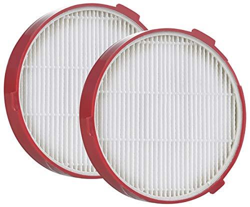 Sichler Haushaltsgeräte Zubehör zu Besensauger: 2er-Set Ersatz-HEPA-Filter für 2in1-Akku-Zyklon-Staubsauger BHS-550.ak (Akku-Handstaubsauger beutellos)