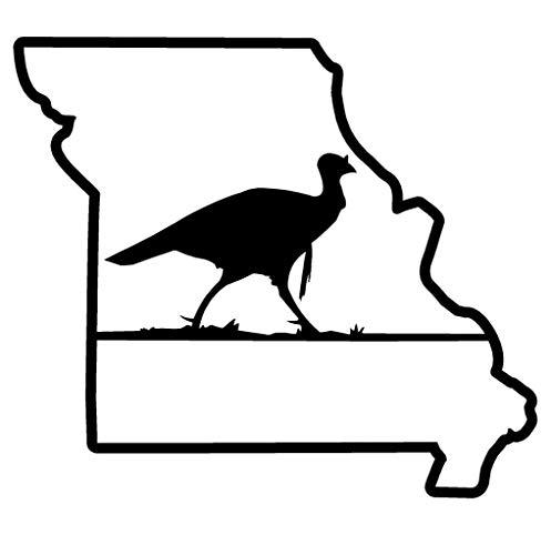 TAMENGI Turkey Hunting Window Sticker Decal Corn Hole Game Missouri NRA NWTF