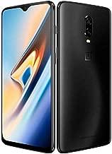 OnePlus 6T A6010 256GB/8GB Dual Sim (Midnight Black) - International Model - No Warranty in The USA - GSM ONLY, NO CDMA