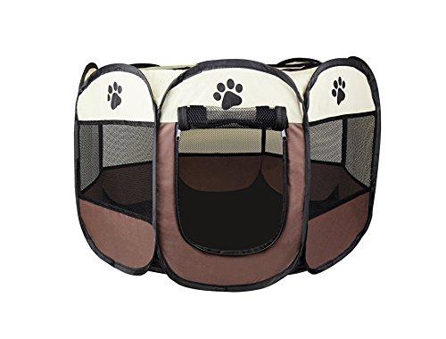 Cosy Life® Welpenlaufstall für Hunde Wohnung/Tierlaufstall für Kleintiere / 65 x 65 x 44 cm