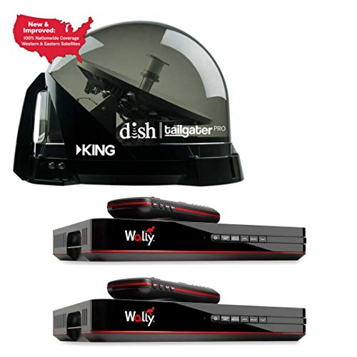 small RV Wholesale Direct King Dish DTP4900 Tailgater PRO Premium Satellite TV Antenna 2 Wally…
