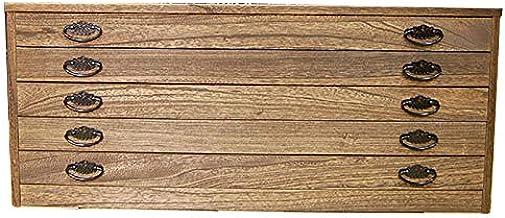 桐たんす 焼桐調うづくり時代仕上げ 5段 総桐 着物収納 【焼桐5段】 【国産】 【日本製】