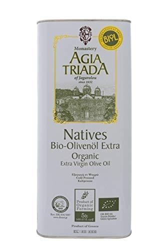 BIO Olivenöl Extra Nativ kaltgepresst Kloster Agia Triada-Kreta 5 Liter Kanister