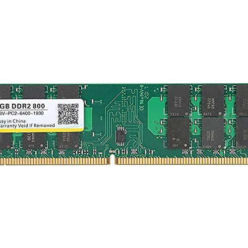 Yuyanshop Memoria RAM DDR2, módulo de barra de memoria DDR2, 4 GB, 800 MHz PC2-6400 1,8 V para memoria dedicada AMD, memoria DDR2 de 4 GB
