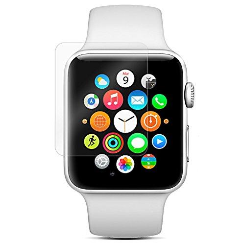 QDOS - Protector de Pantalla de Cristal para Apple Watch (42 mm,...