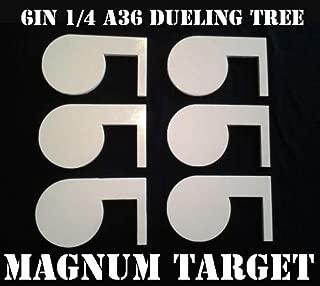 Steel Shooting Targets Rimfire .22LR Dueling Tree DIY Kit (6) 6