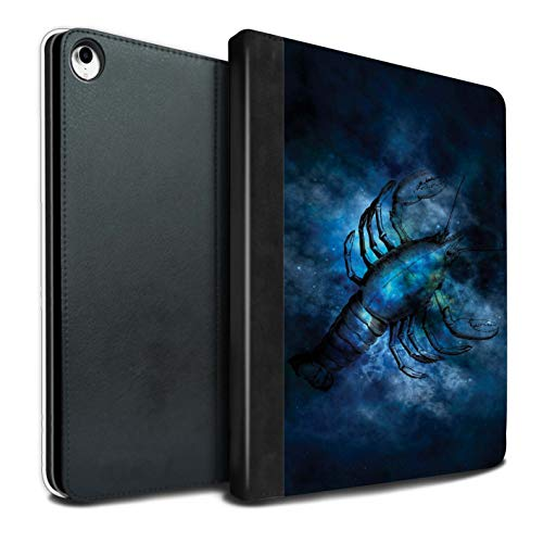 eSwish - Libro de Piel sintética, Funda y Funda (IP-TSB) Cancer/Crab Apple iPad Pro 12.9 2018/3rd Gen