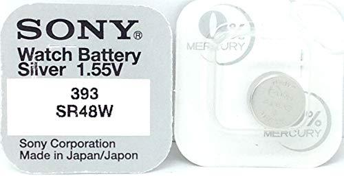 SONY SR48WN-PB 10 x Pile 393 SR48W 309 - 0% Mercure