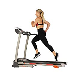in budget affordable Folding Electric Sunny Health  Fitness Treadmill