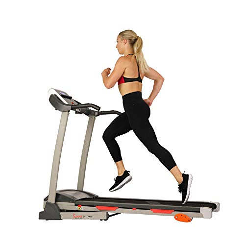 Sunny Health & Fitness Treadmill, Gray (SF-T4400)...