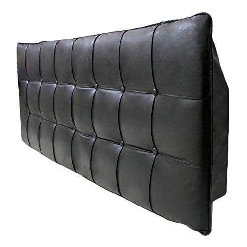 QIANCHENG-Cushion Wedges Rückenlehne Taillenpolster Antikollisionskopf PU-Softcase Kissen Hüftgurt Rückenlehne, 7 Farben (Color : #4, Size : 150x60x6cm)