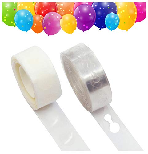 Balloon Arch Garland Decorating Strip, Balloon Decorating Strip, Dot Glue, for Party Easy to Make Balloon Garland(Pack of 2)
